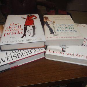 4 Lauren Weisberger Books